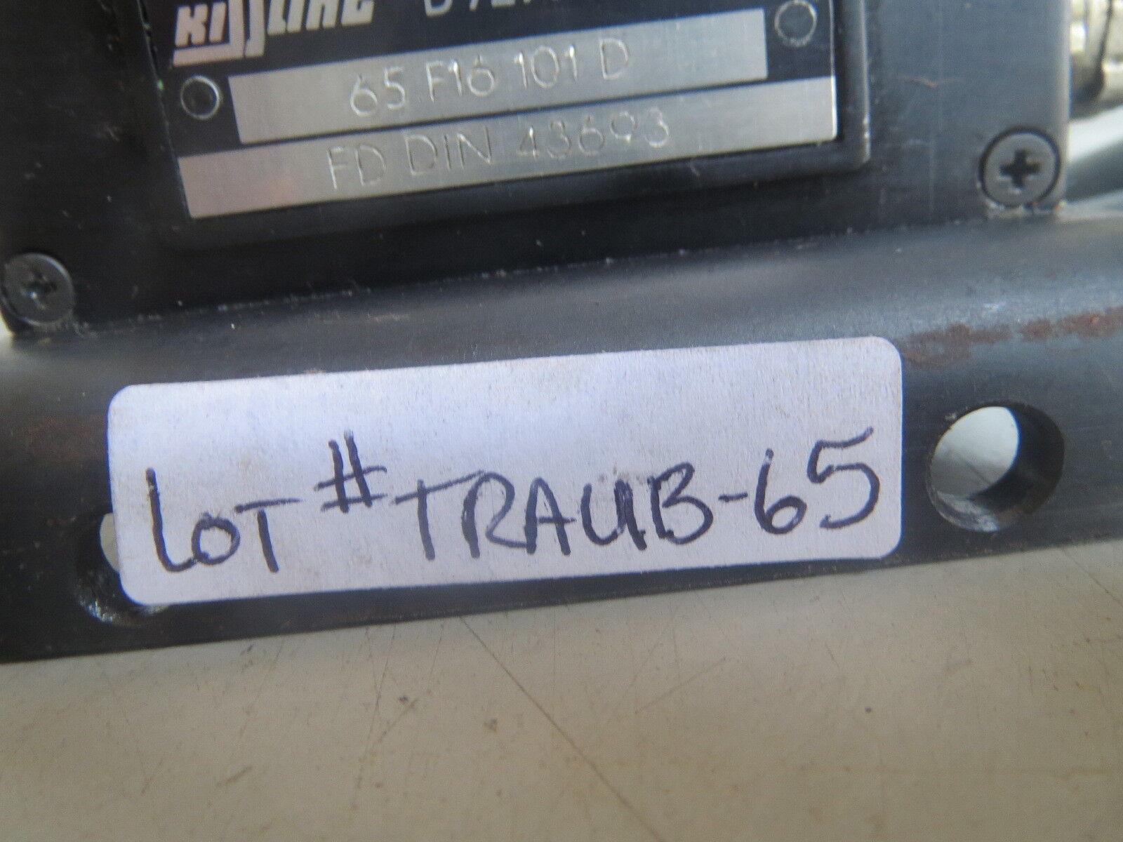 TRAUB KISSLING LIMIT SWITCH D7277 WILDBERG 5 65 F16 101 D LOT# TRAUB-51 REMI