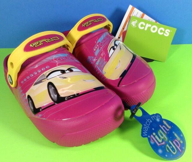 crocs Kids Crocsfunlab Lights Cars 3 Clog