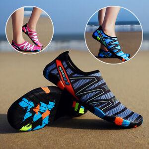 Women-Men-Outdoor-Beach-Sandals-Skin-Sports-Swim-Flats-Water-Shoes-Slippers-6-11