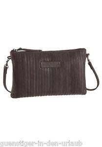 696f3fca5ab5f Das Bild wird geladen Bruno-Banani-Damen-Leder-Handtasche-Tasche -Schultertasche-Umhaengetasche-