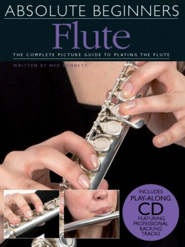 Absolute Beginners Flute Book and CD NEW 014041654