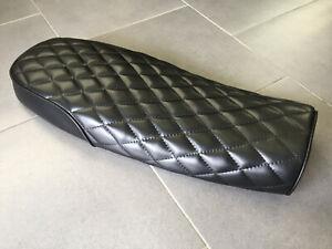 Selle-Motorrad-Cafe-Racer-Scrambler-Padded-62cm-Noir