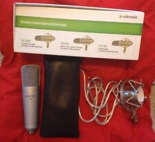 BOXED Citronic CCU2 USB Home Studio Vocal Instrument Condenser Microphone Mic