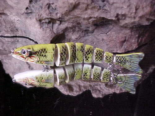 """1 PREDATOR TACKLE 5/"""" Sinking 5//8oz Bass /& Pike Hunter Lure in Color NUCLEUR"""