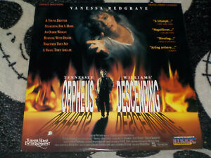 Orpheus-Descending-Laserdisc-Ld-Vanessa-Redgrave-Tennessee-Williams-30