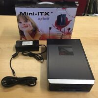 Fanless Mini-itx Pc Case, Card Reader,65w Dc-to-atx Power Supply, Ac Adapter