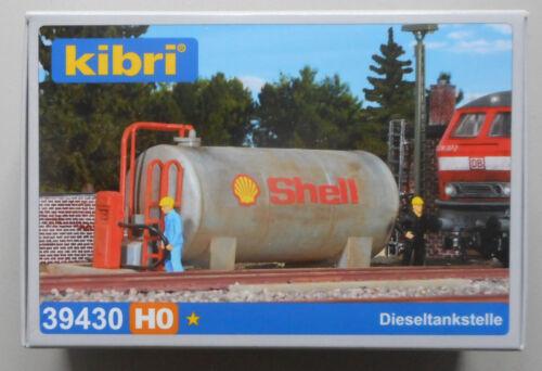 Shell Diesel Tank Pump KIBRI 1//87 HO SCALE PLASTIC MODEL KIT ADVANCED