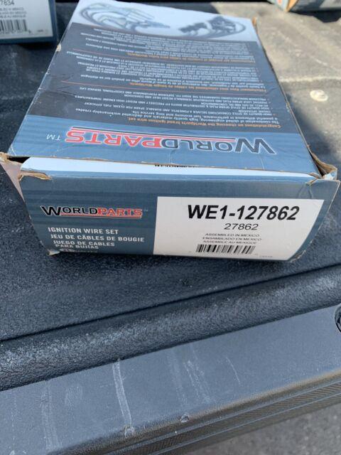 Worldparts 127862 Spark Plug Wire Set Fits 1999