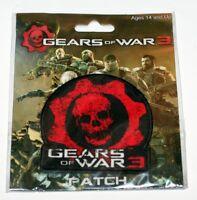 Gears Of War 3 Microsoft Xbox 360 Video Marcus Fenix Crimson Omen Logo Patch