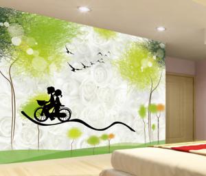 3D Romantic Graffiti 7 Wall Paper Murals Wall Print Wall Wallpaper Mural AU Kyra
