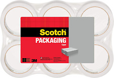 Scotch Lightweight Shipping Packaging Tape 188 Inches X 546 Yards 6 Rolls