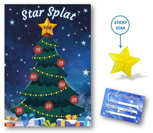 Family Office Xmas Party Game Kids Christmas Family Game STAR SPLAT