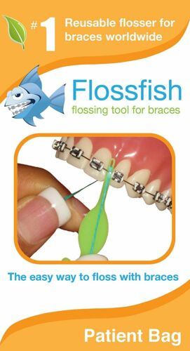Reusable Tooth Flossers Orthodontic flossers 5 Mixed Colors Easy Durable