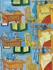 Van Gogh's Bedrooms by Louis van Tilborgh, Gloria Groom, Inge Fiedler, David J. Getsy (Hardback, 2016)