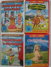 Erotik Sammlung 4x Kult Deutschland - Trucker Report, Nackt kess Partei - Sissi