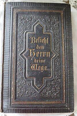 """Antique German Evangelical Hymnal-""""Befiehl dem Herrn deine Wege""""-C1886"""