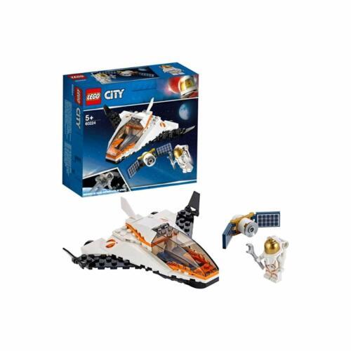 Lego Ciudad Satélite misión de servicio 60224
