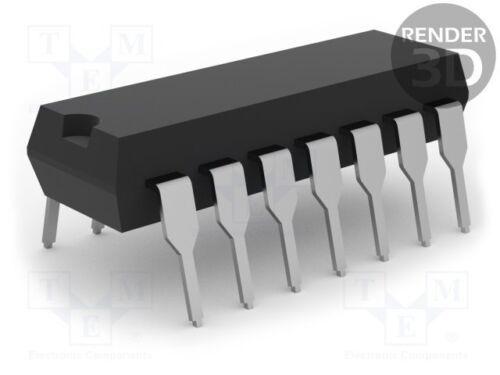 digital; Wechselrichter; Kanäle:6; THT; DIP14; Serie 3 st IC F