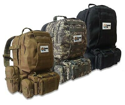 Gut Outdoor Sport Rucksack Für Wandern Camping Reise Freizeit Herren Army Backpack