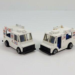 Lote-de-2-Vintage-1983-Hot-Wheels-Buen-Humor-Hielo-Crema-camiones-diecast