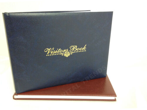 VISITOR BOOK// GUESTS BOOK WEDDING BOOK HOTEL CAFFE OFFICE SCHOOL RECORD LOG NEW