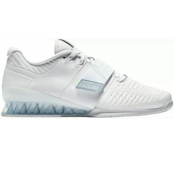 Size 10.5 - Nike Romaleos 3 White