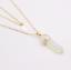 Piedras-preciosas-naturales-talladas-con-punta-hexagonal-Reiki-Chakras-Colgante-de-curacion-Collares miniatura 16