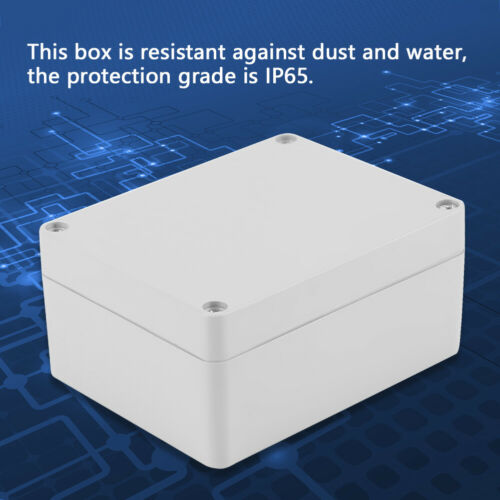 Water-resistant IP65 ABS Electrical Project Box Enclosure Instrument Case BT