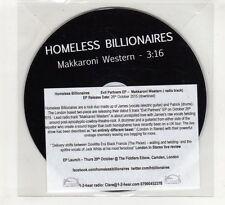 (HE558) Homeless Billionaires, Makkaroni Western - 2015 DJ CD