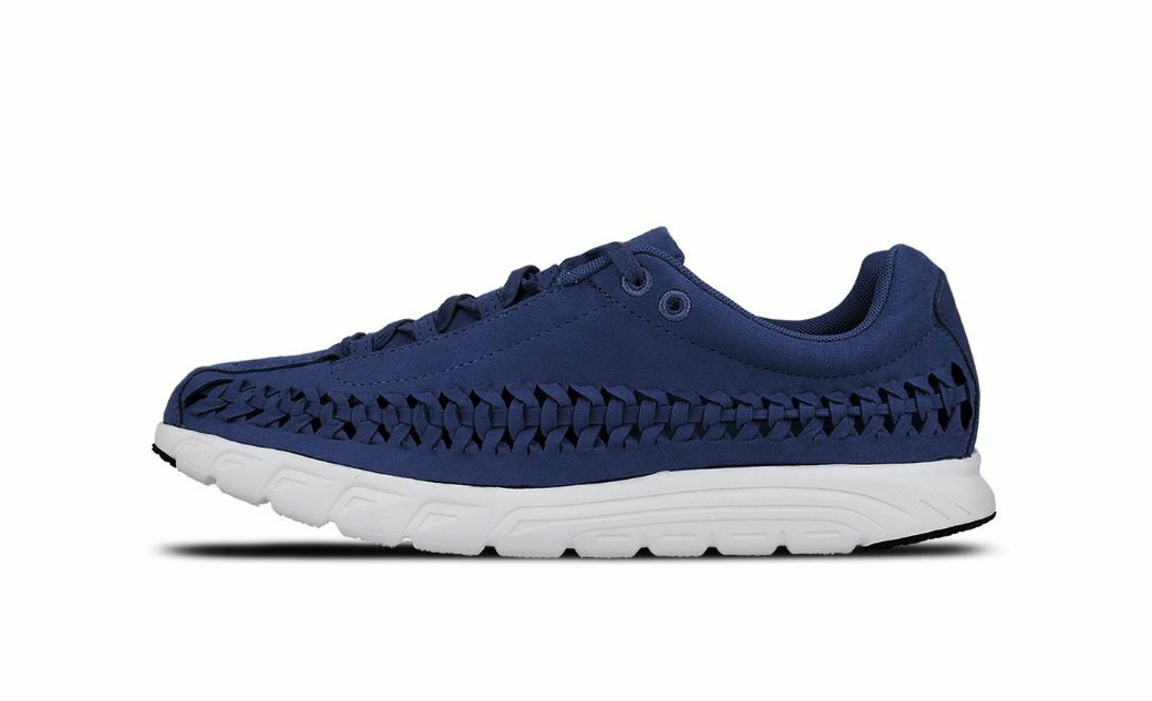 best-selling model of the brand NIKE MAYFLY WOVEN COASTAL BLUE OFF WHITE Price reduction