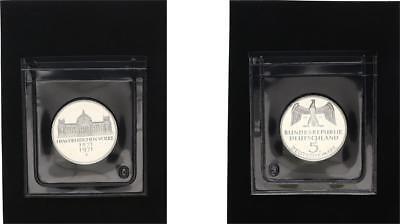 5 Mark 1971 G Reichsgründung Gedenkmünze In Plastikhülle, Polierte Platte (pp) Perfekte Verarbeitung