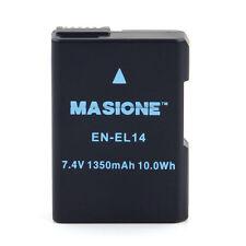 EN-EL14 Lithium Battery For Nikon D5500 D5300 D5200 D5100 D3300 D3200 D3100 US