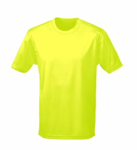 Sports AWDis Cool Breathable Moisture Wicking T-Shirt for Running Gym Cycling