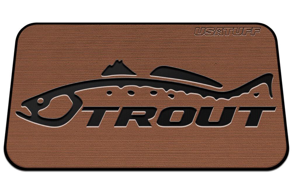 USATuff  Cooler Pad for YETI 110qt - SeaDek Marine EVA Mat - T B - Trout Name  fashion mall