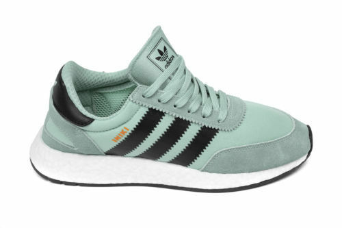 Adidas Originals Womens Iniki Runner SZ 10 Tactile Green Core Black White BY9096
