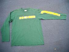 Vintage Nike Made in USA Oregon Ducks Running Long Sleeve Shirt Mens Size Medium