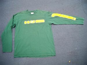 cc5007164a18 Vintage Nike Made in USA Oregon Ducks Running Long Sleeve Shirt Mens ...