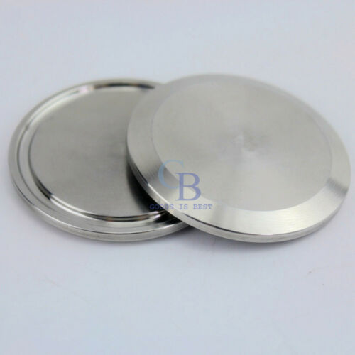 """Stainless Steel Sanitary End Cap For 3//4/""""~1.5/"""" Tri Clamp End Pipe Blank Flange"""
