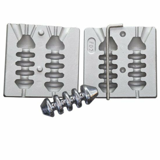 Lead mould inline  feeder weights fishing lead mould Carp Boat Fishing , CT02