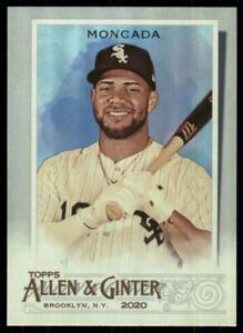 2020-Topps-Allen-and-Ginter-Hot-Box-Silver-45-Yoan-Moncada-Chicago-White-Sox