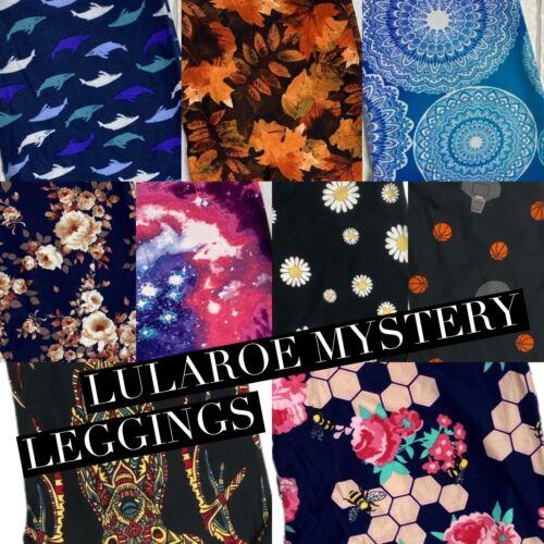 OS TC2 Lularoe Mystery Leggings The best prints! TC BRAND NEW