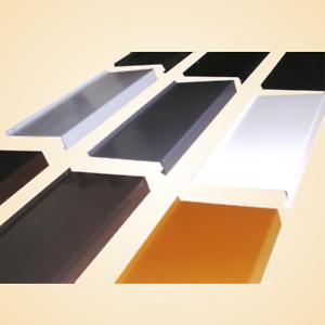 Aluminium Appui De Fenêtre Ral Couleurs 12mm Alu Tôle Sur Mesure
