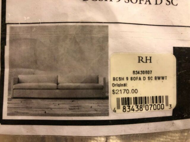 Peachy Restoration Hardware Cloud Sofa Cover Bcsh 9 Retail 2170 Slipcover New Alphanode Cool Chair Designs And Ideas Alphanodeonline