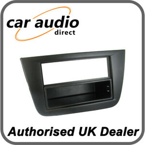 Black Connects2 CT24ST04L Facia Plate for Seat Altea//Toledo LHD Vehicles