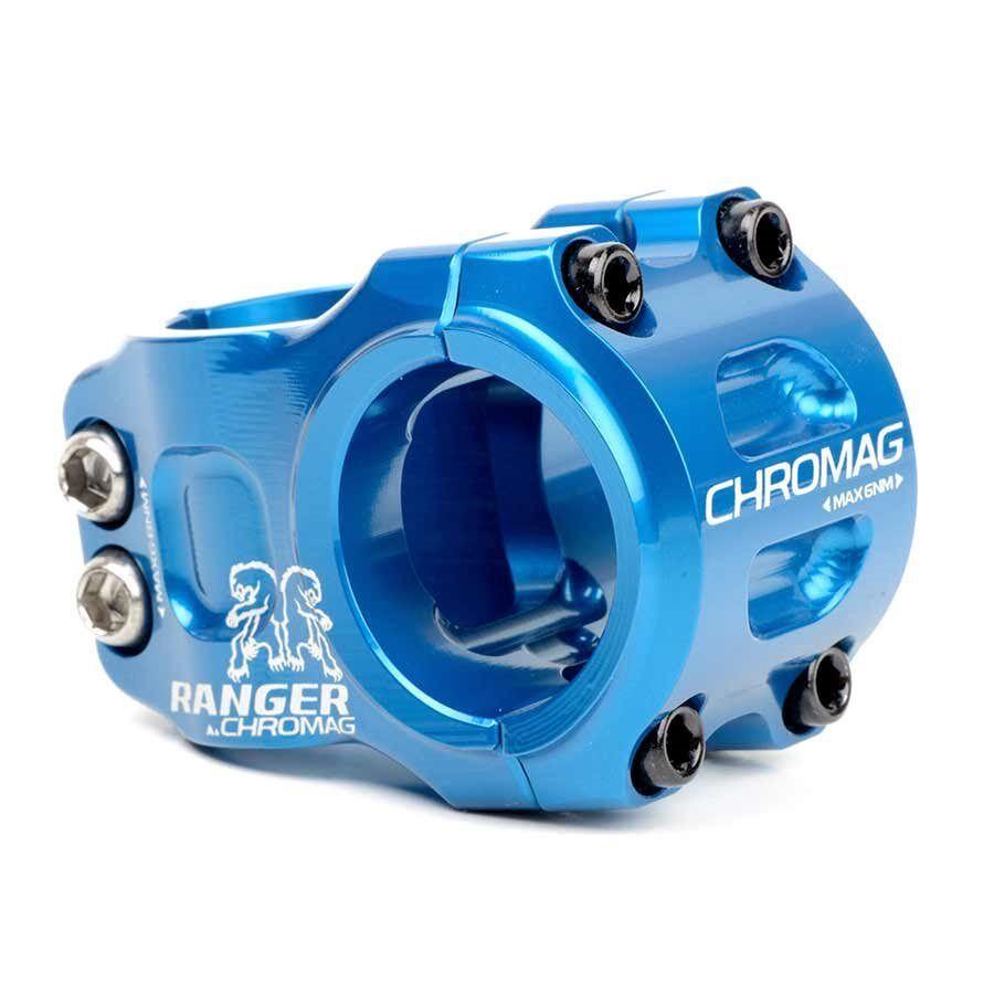 Chromag Ranger V2 STELO 118 L  40mm 40mm 40mm 0 Dia  31.8mm Blu ffc