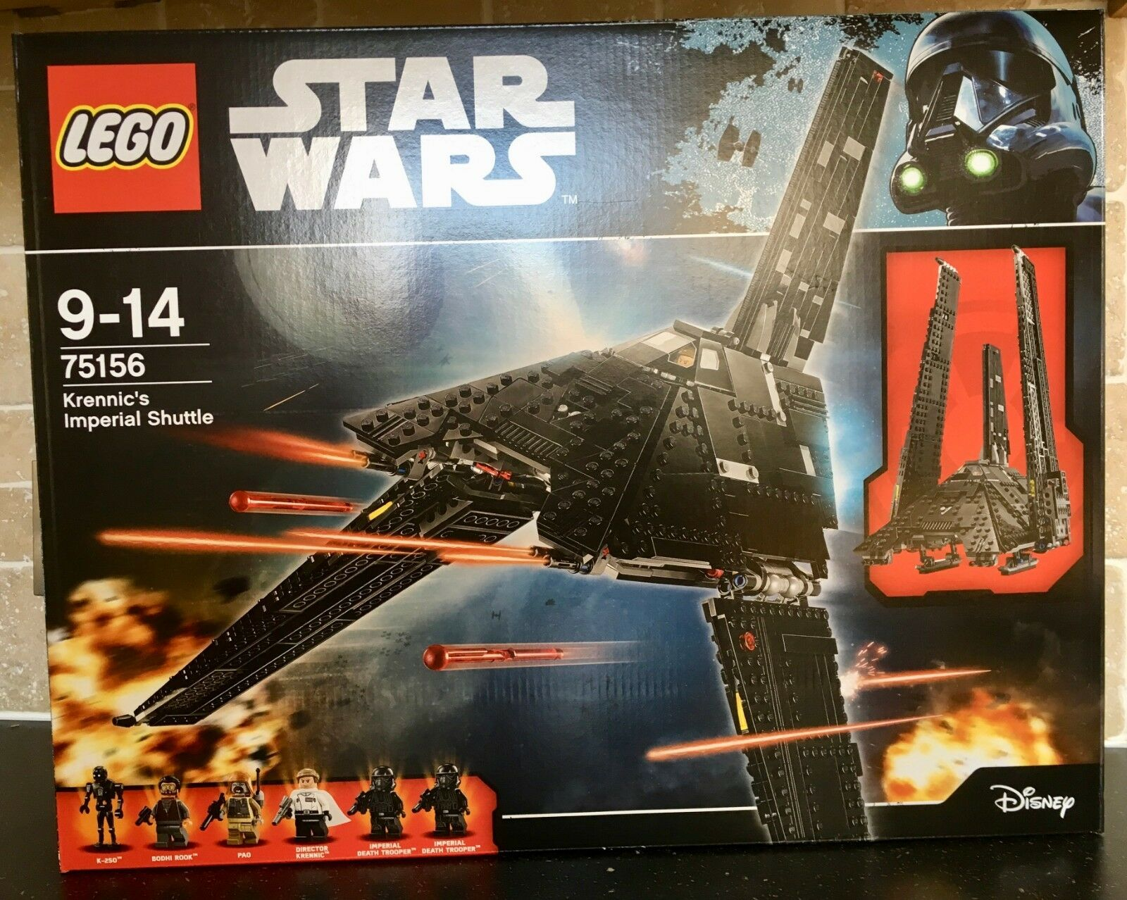 LEGO 75156 Star Wars Krennic's Imperial Shuttle Brand New & Sealed