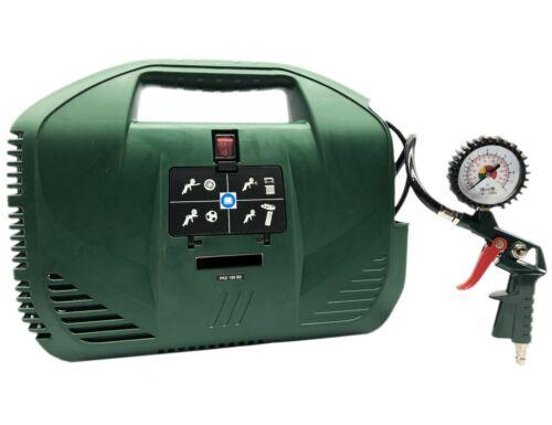 Kompressor 1,1kW 8bar Druckluft Luftkompressor Druckluftkompressor PKZ180 B2