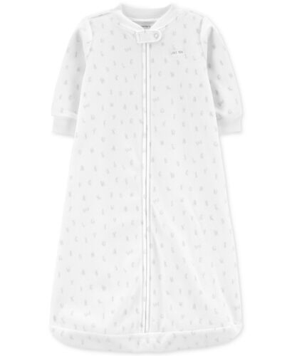 NWT Carter/'s Sleepsack Baby Boys Unisex Microfleece Sleepbag Sleepwear 1 Piece