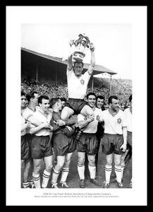 Bolton-Wanderers-Nat-Lofthouse-amp-Team-1958-FA-Cup-Final-Photo-Memorabilia-152