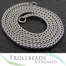 TROLLBEADS Sterling Silber Hals Kette 70 cm - Sterling Silver Necklace